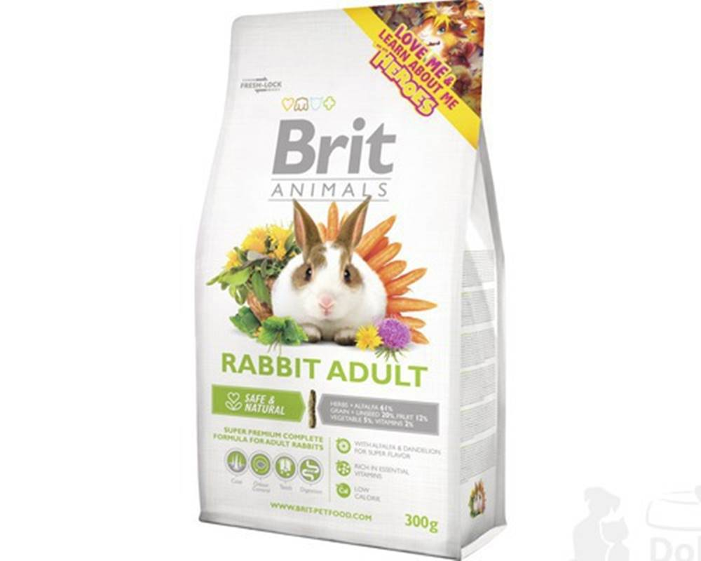 Brit Brit Animals Rabbit Adult Complete 300g