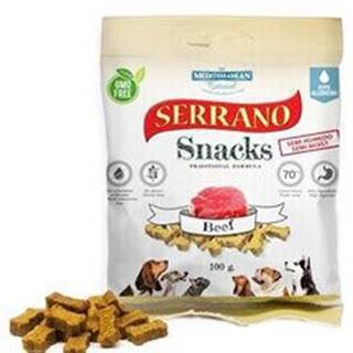 Serrano Snack for Dog-Beef 100g