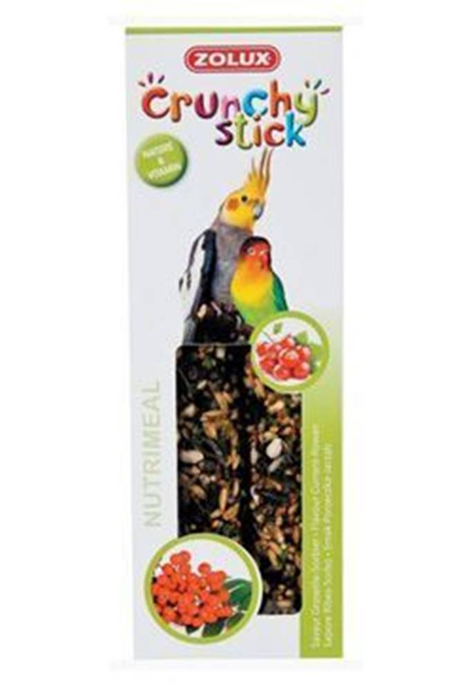 Zolux Crunchy Stick Large parakeet Ríbezle / Jarabiny 2ks Zolux