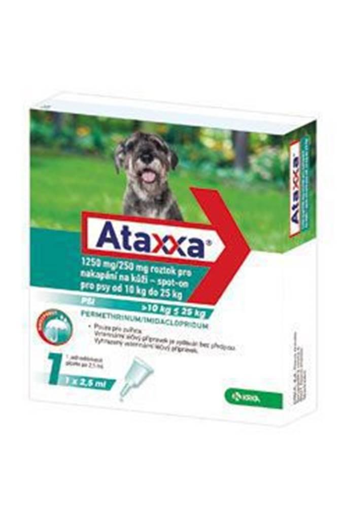 KRKA Ataxxa Spot-on Dog L 1250mg/250mg 1x2,5ml
