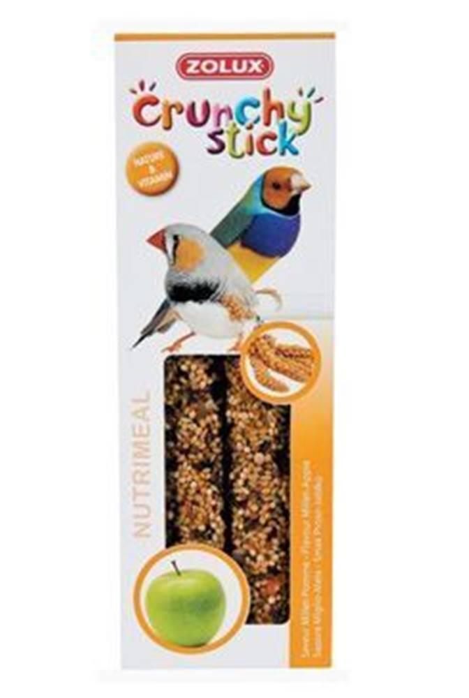 Zolux Crunchy Stick Exotic Proso / Jablko 2ks Zolux