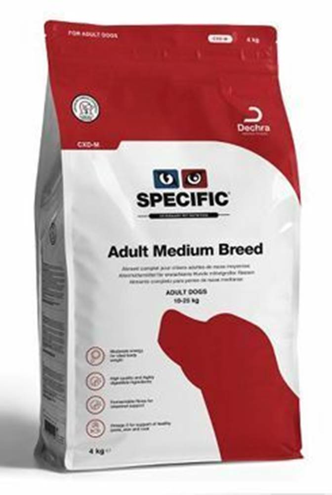 Specific Specific CXD-M Adult Medium Breed 7kg pes