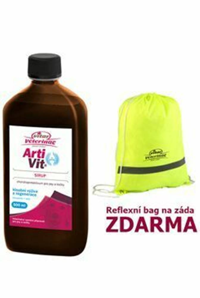 Vitar Veteriane VITAR Veterinae ArtiVit Sirup 500ml + reflex batôžtek