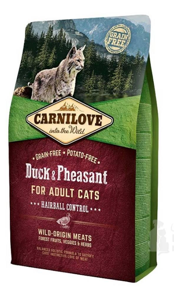 Carnilove Carnilove Cat Duck&Pheasant Adult Hairball Contr 6kg