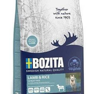 Bozita DOG Lamb & Rice Wheat Free 12kg
