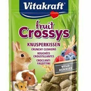 Vitakraft all Rodent poch. Crossys Wildberr 50g