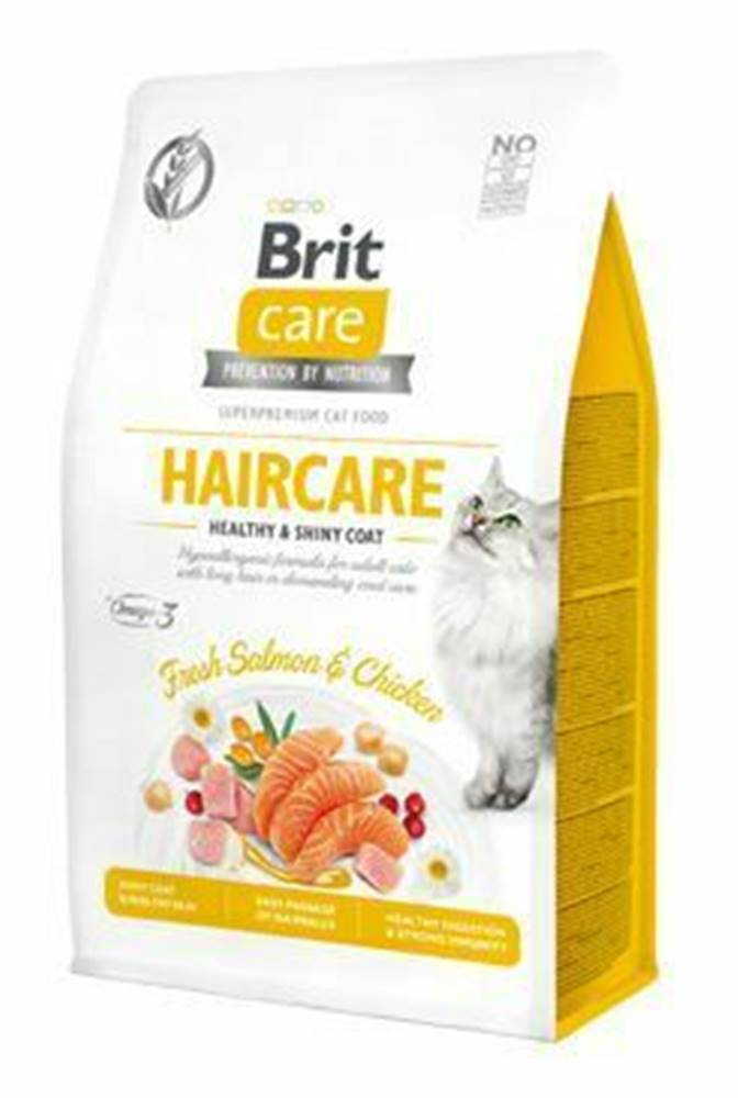Brit Care Brit Care Cat GF Haircare Healthy&Shiny Coat 0,4kg
