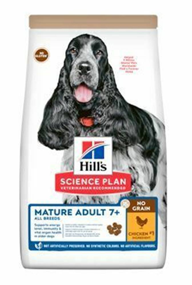 Hill's Hill's Can.Dry SP Mature Adult NG Chicken 2,5kg