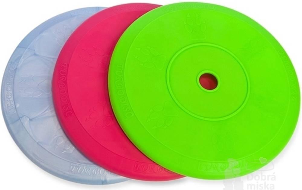 SUM PLAST Hračka pes Disk MAX SUPER aport plávacie Vanil.18cm SP