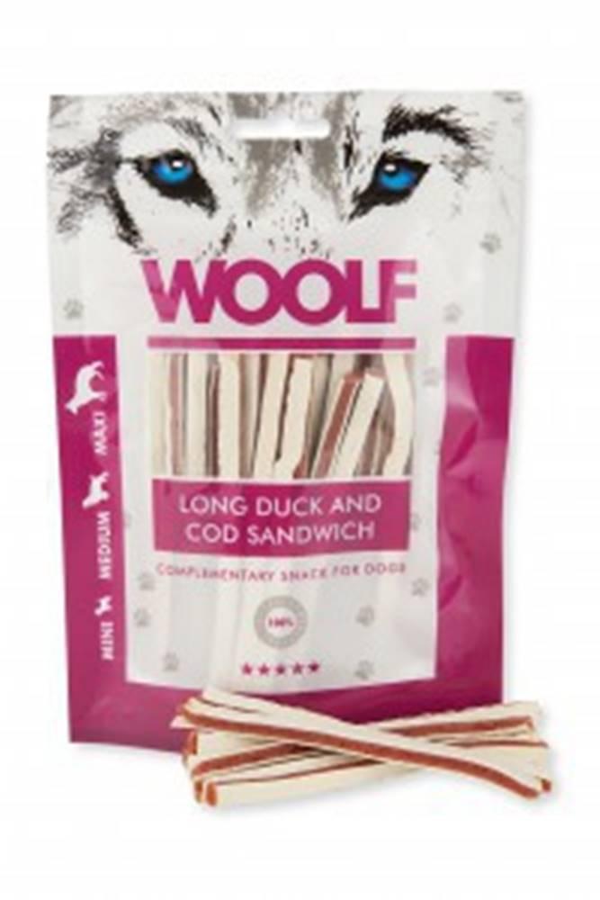Woolf WOOLF pochoutka soft duck and cod sandwich long 100g