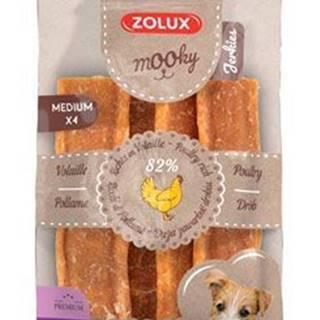 Pochúťka Mook Premium hydinové M 4ks Zolux