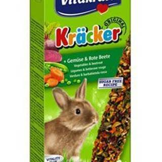 Vitakraft Rodenta Rabbit Kräcker zelenina + červ.řepa 2ks