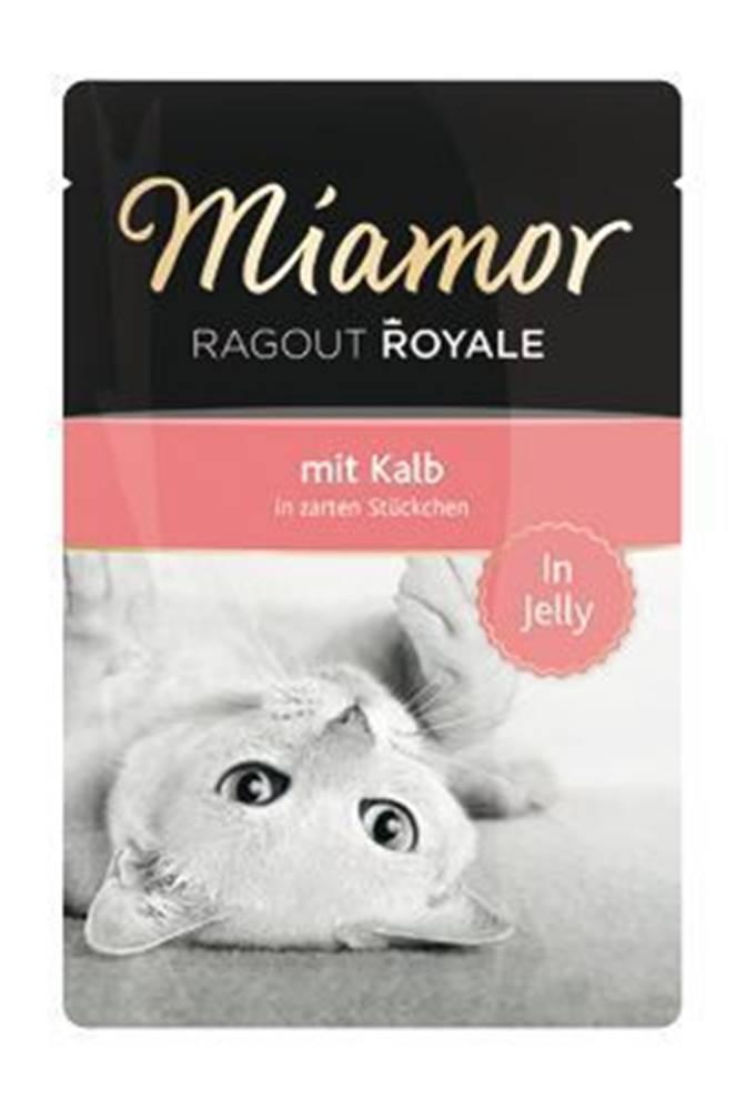 Miamor Miamor Cat Ragout kapsa Royale telecí v želé 100g