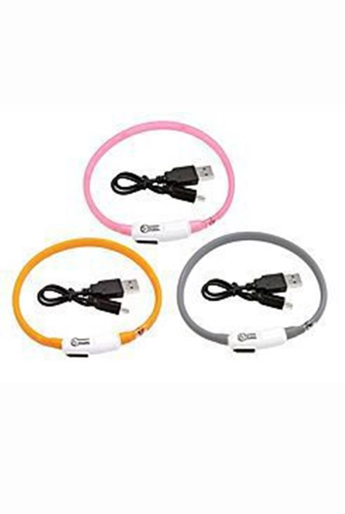 Karlie Obojek USB Visio Light 35cm růžový KAR 1ks