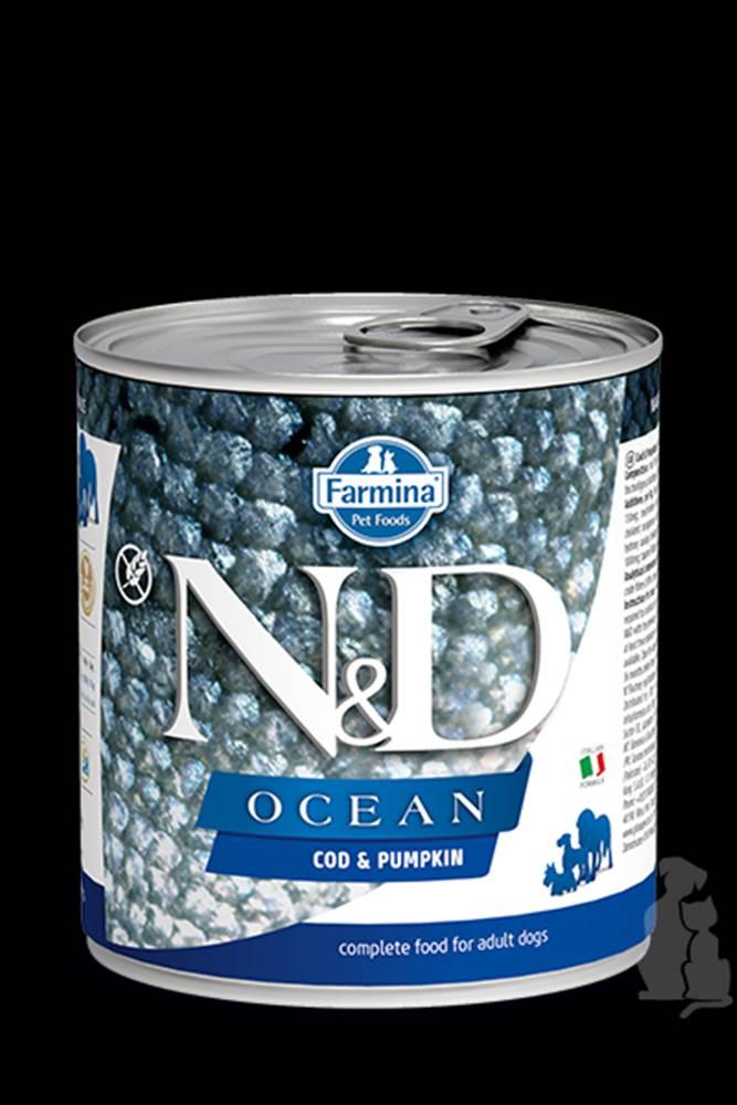 N&D (Farmina Pet Foods) N&D DOG OCEAN Adult Codfish & Pumpkin 285g