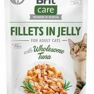 Brit Care Cat Fillets in Jelly with Wholesome Tuna 85g