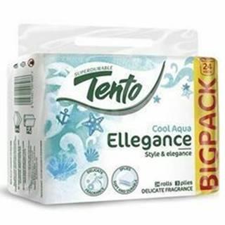 Wc toaletný papier TENTO Ellegance Cool Aqua 3V 24ks
