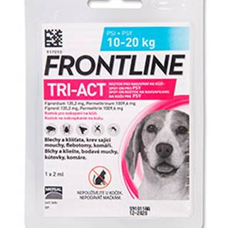 Antipar. spot-on FRONTLINE TRI-act - 2-5kg