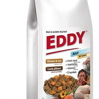 EDDY Adult All Breed kuřecí polštářky s jehněčím - 8kg
