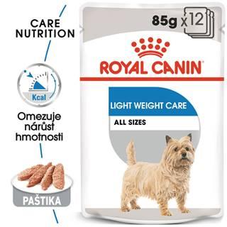 Royal Canin Light Weight Care Dog Loaf - dietní kapsička s paštikou pro psy - 85g