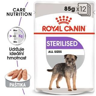 Royal Canin Sterilised Dog Loaf - kapsička s paštikou pro kastrované psy - 85g