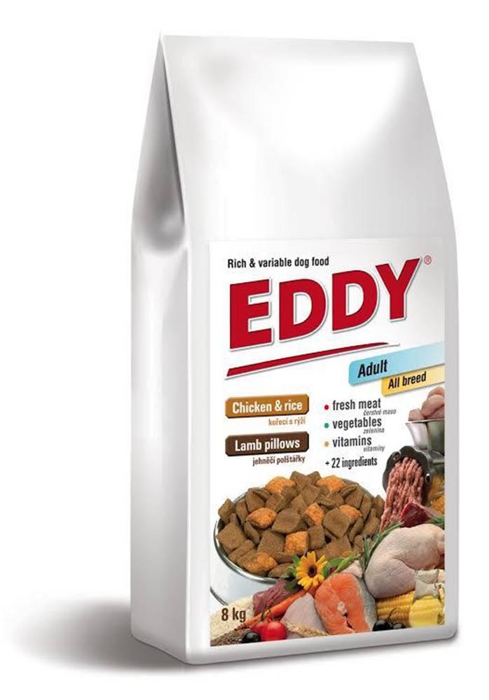 EDDY EDDY Adult All Breed kuřecí polštářky s jehněčím - 8kg