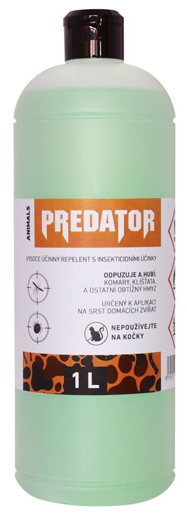 (bez zařazení) PREDATOR repelent ANIMALS náhradné balenie - 1000 ml