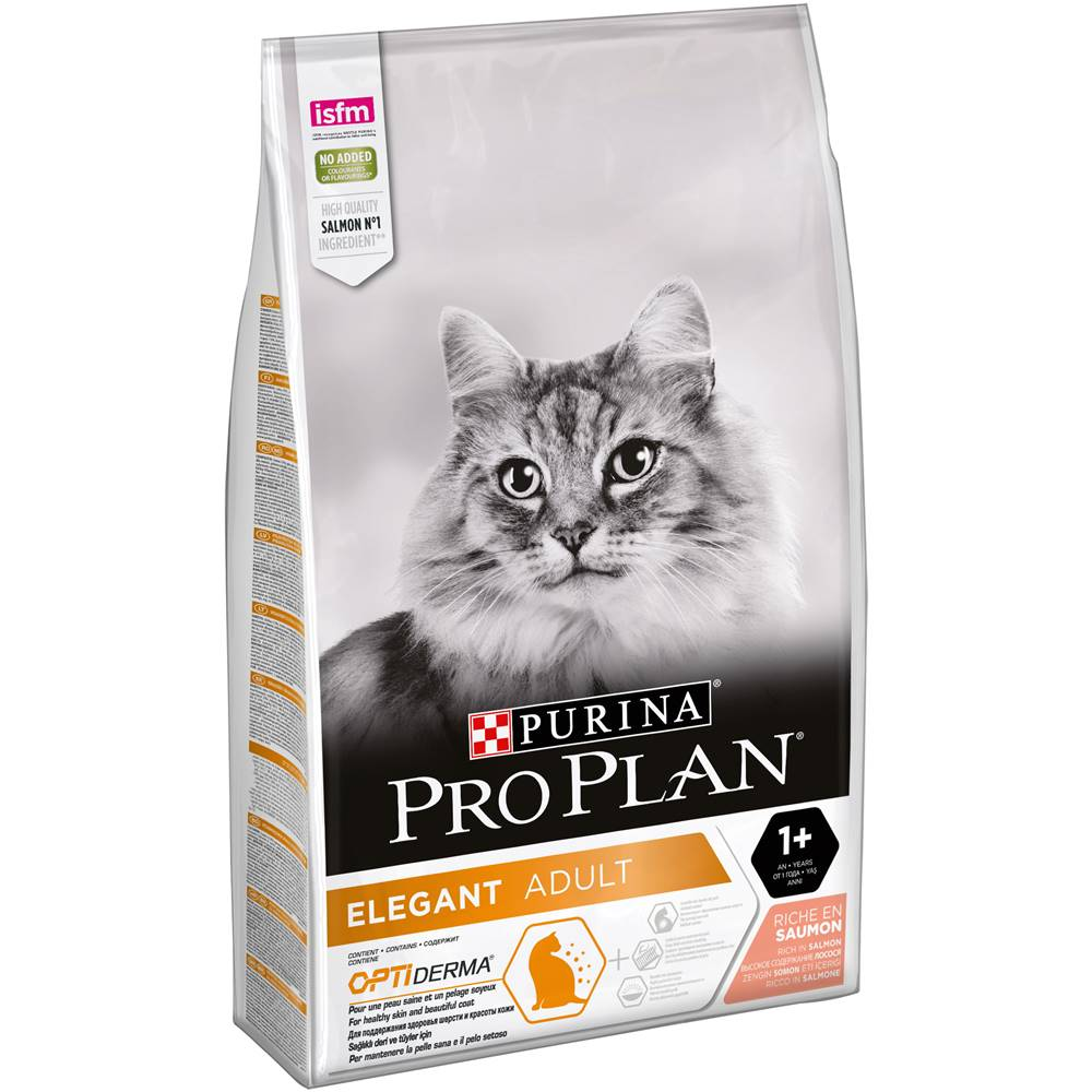 Purina PROPLAN cat  ELEGANT adult DERMA SALMON - 3 kg