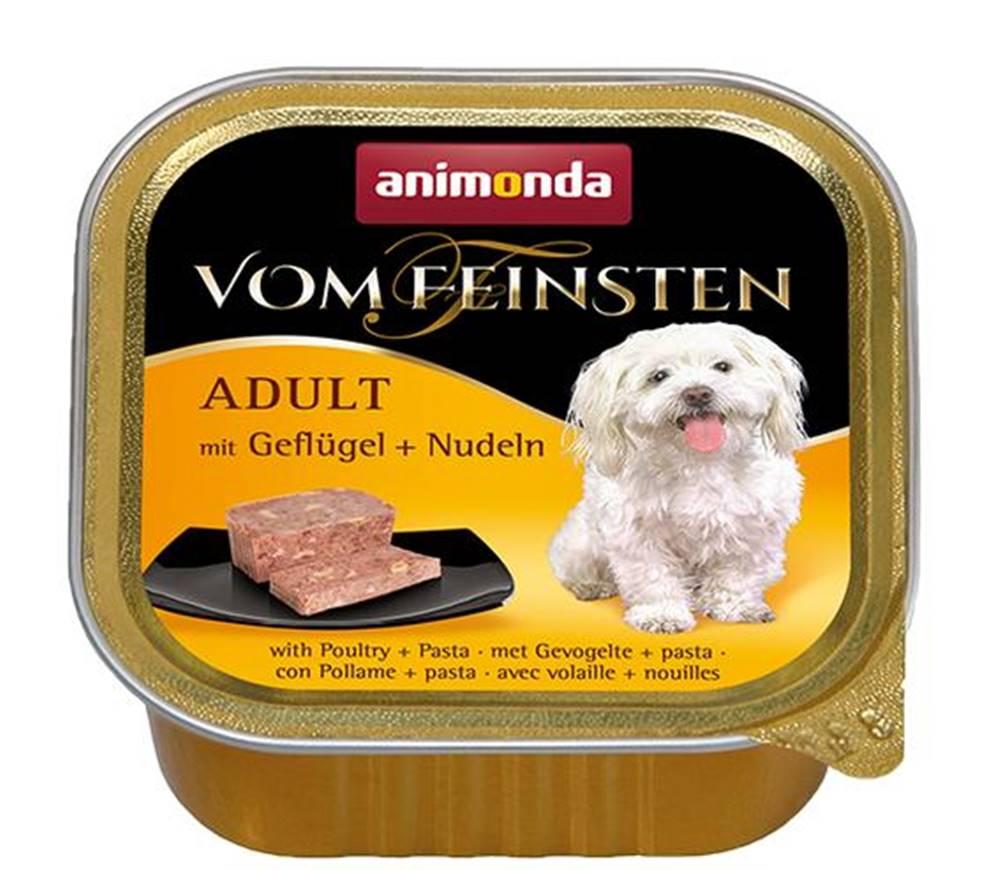 Animonda ANIMONDA dog paštika ADULT 150g - Hydinové/rezance