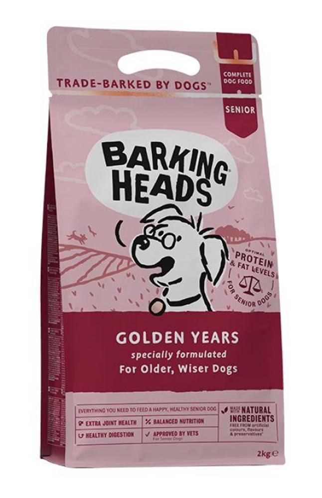 Barking heads Barking Heads GOLDEN years - 2kg