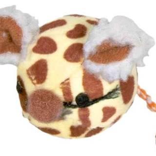 HRAČKA lopta s myšou tvárou - 4,5cm