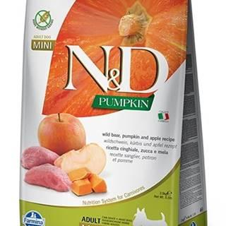 N&D dog GF PUMPKIN ADULT MINI boar/apple - 800g