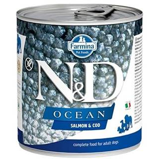 N&D dog OCEAN konz. ADULT salmon/codfish - 285g