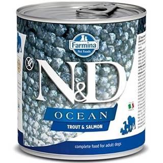 N&D dog OCEAN konz. ADULT trout/salmon - 285g