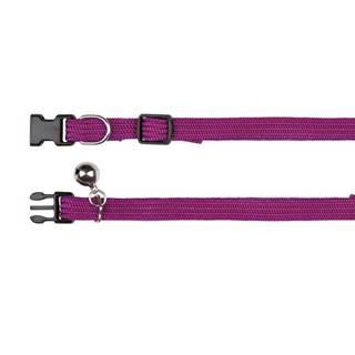 Obojok nylonový, elastický s rolničkou (trixie) - 32cm