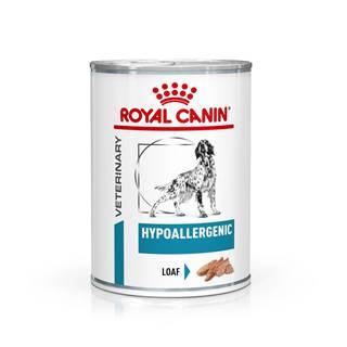 Royal Canin Veterinary Health Nutrition Dog HYPOALLERGEN konzerva - 200g