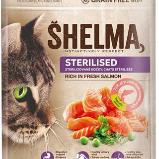 SHELMA cat STERILISED salmon - 750g