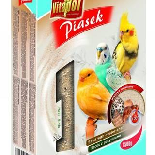 VITAPOL piesok pre vtáky s mušľami - 1,5kg