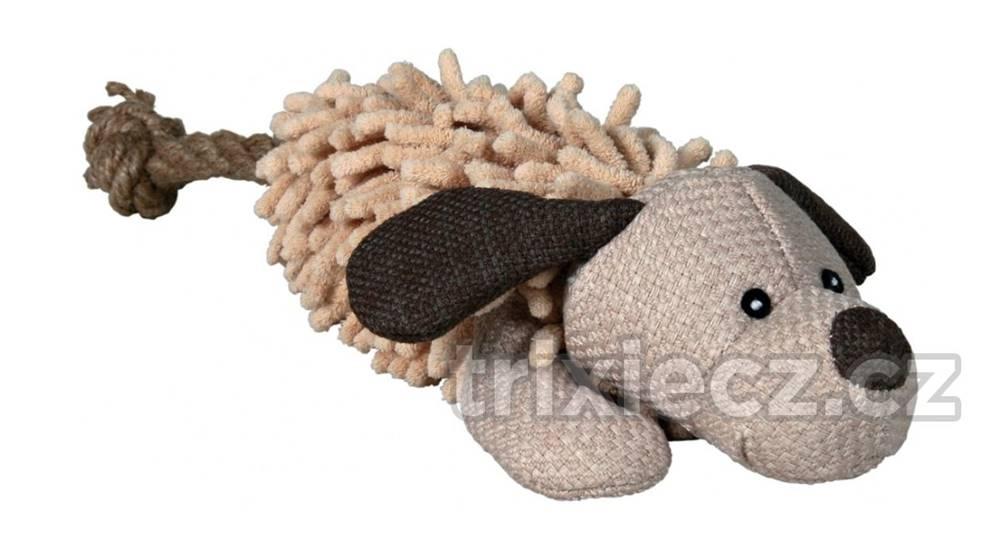 (bez zařazení) HRAČKA plyšový PES s chvostom z lana - 30cm