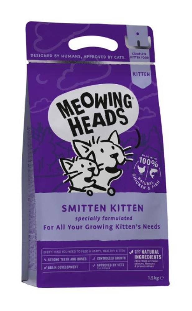 Meowing Meowing Heads   SMITTEN  KITTEN - 450g