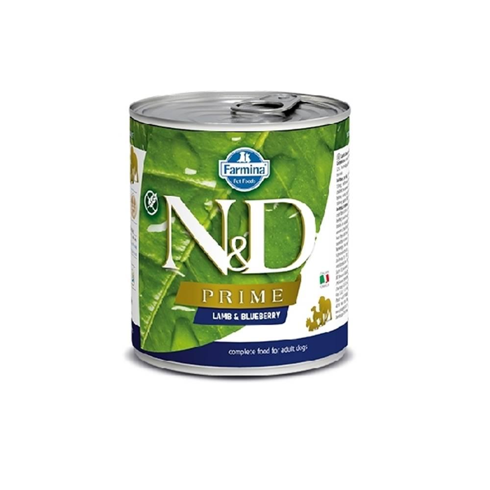 Natural&Delicious N&D dog PRIME konz. ADULT lamb/blueberry - 285g