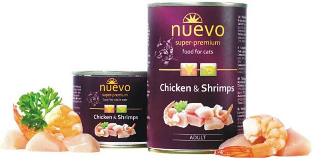 (bez zařazení) NUEVO cat konz. ADULT kura / krevety - 200g