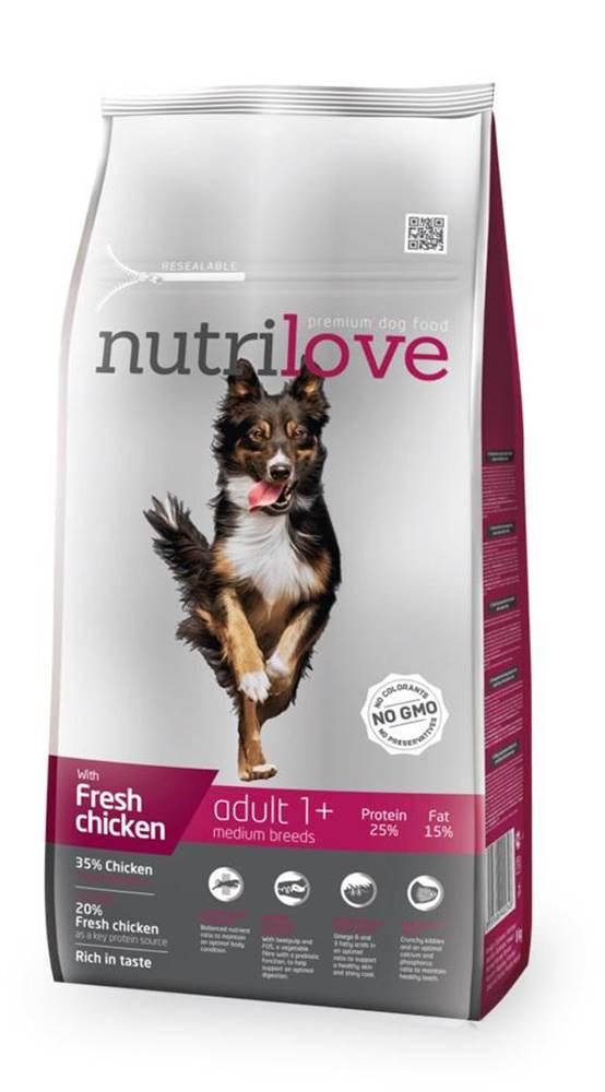 Nutrilove NUTRILOVE pes ADULT  medium - 1,6kg