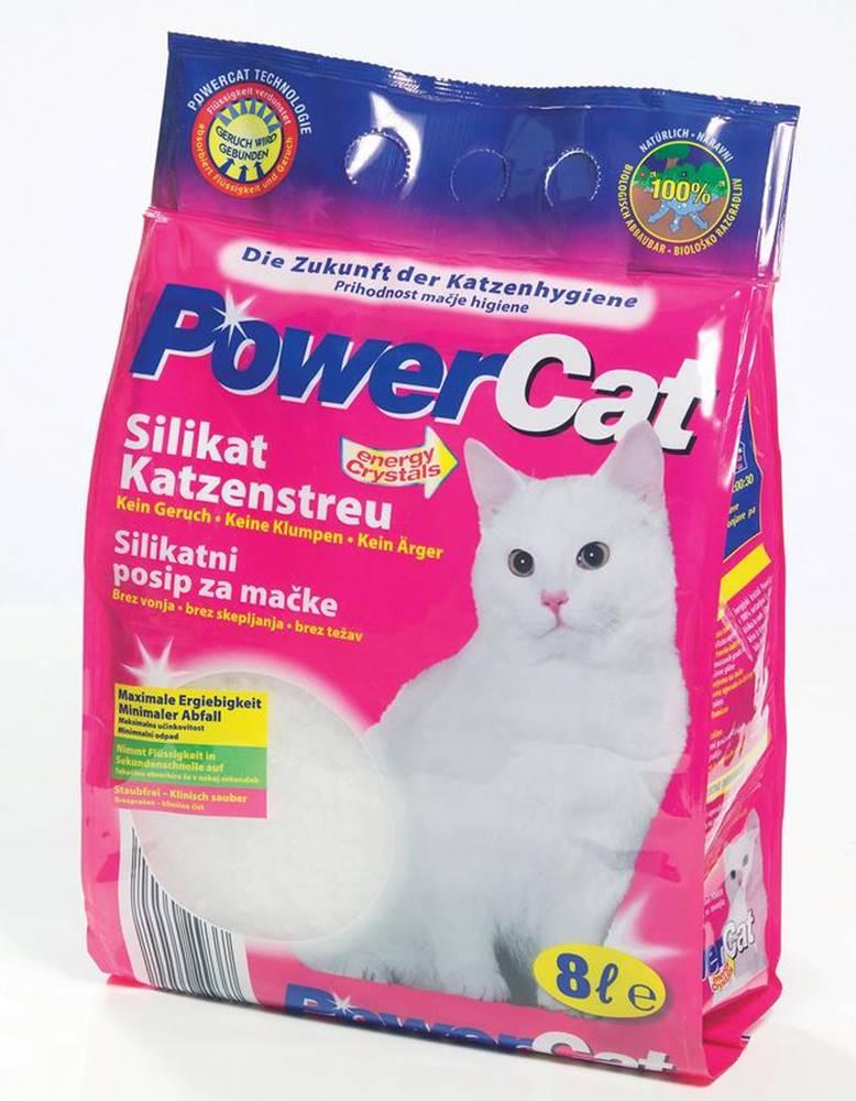 (bez zařazení) Podstielka PowerCat silikón - 8l