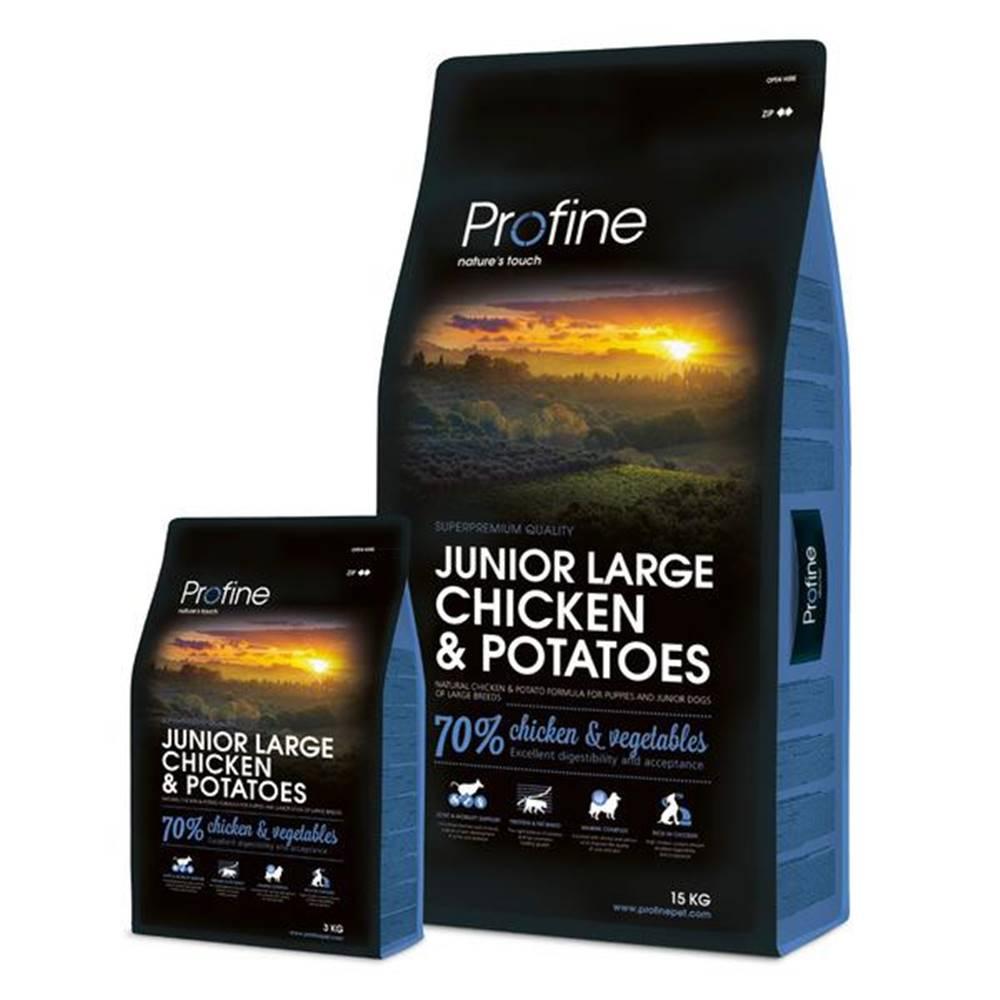 Profine PROFINE JUNIOR LARGE Chicken - 15kg