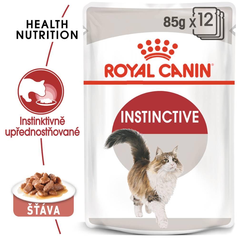 Royal Canin RC cat   kapsa  INSTINCTIVE v sosu - 85g