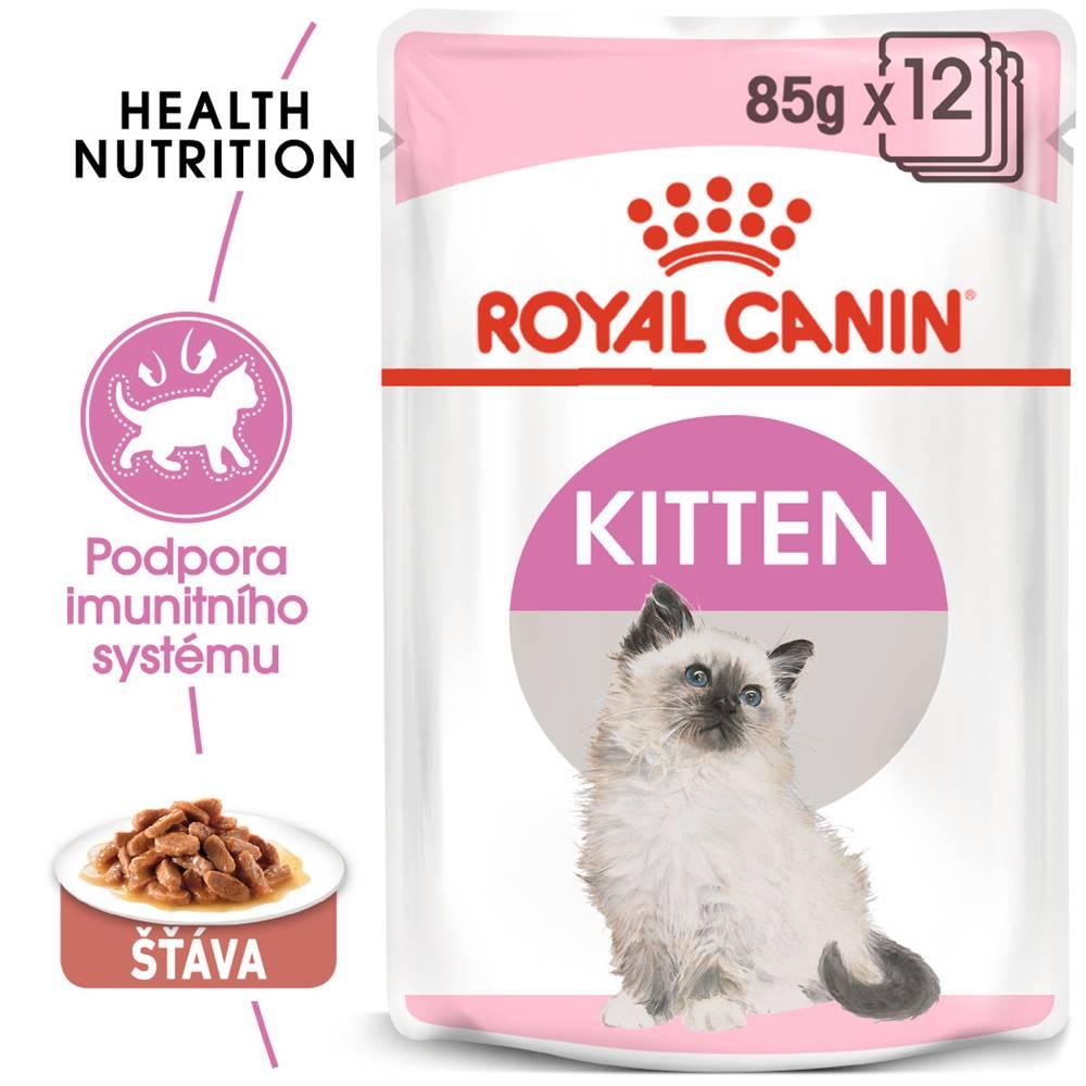 Royal Canin RC cat   kapsa   KITTEN  v sosu - 85g