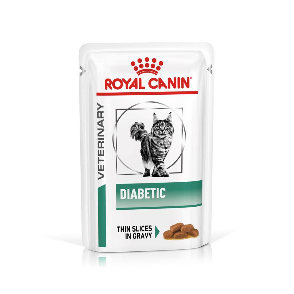 Royal Canin Royal Canin Veterinary Health Nutrition Cat DIABETIC vrecko - 85g