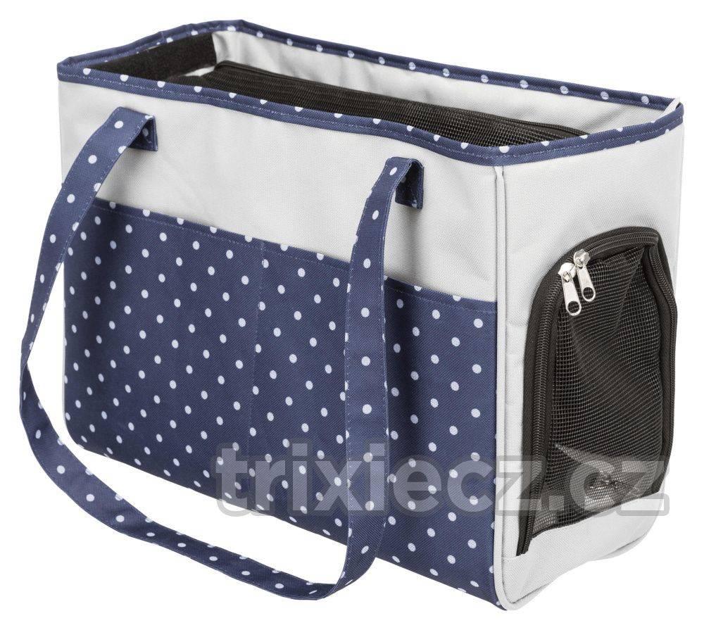 Trixie TAŠKA cestovní BONNY modro/še - 5kg/20x29x40cm