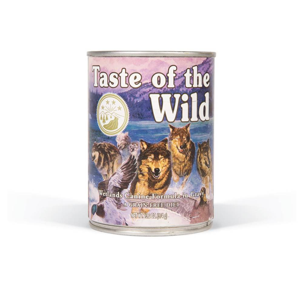 Taste of the Wild TASTE WILD Wetlands WILD Fowl konz. - 390g